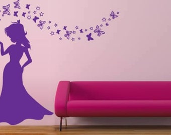 Magic Princess Wall Decal (set of 70)