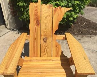 Minnesota Adirondack Chair