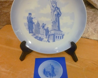 Vtg 1985 Statue of Liberty plate 100 years 1886