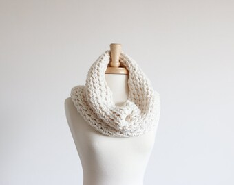 Chunky Cowl Neckwarmer Hood Scarf Thermal | THE CHIMBLEY in Fisherman