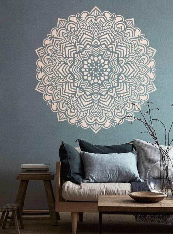 Pochoir Mandala Motif Mandala Bricolage Decoration Moderne