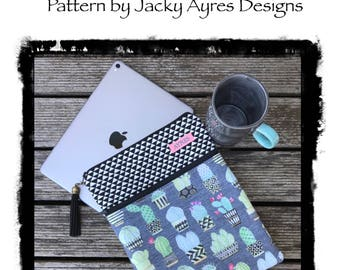 Pattern iPad/Tablet Sleeve - Instant Digital Download