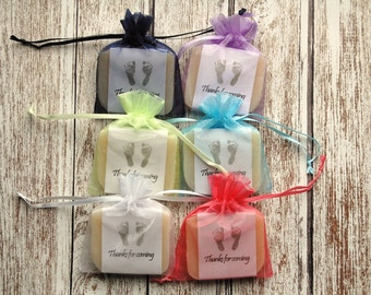 Baby Feet Soap Favors Baby Shower