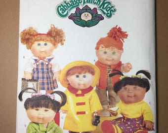 Butterick Pattern 6736 - Cabbage Patch Kids Clothes