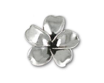 Plumeria Ring Jewelry Sterling Silver Handmade Flower Ring PLM2-R