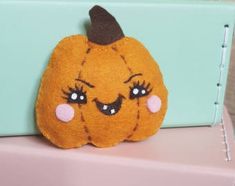 Mini plush pumpkin Halloween