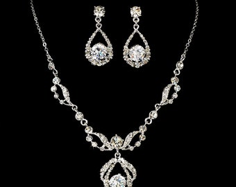 Bridesmaid Jewelry, Bridal Jewelry Set