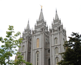 Salt Lake City Utah LDS temple - INSTANT digital download
