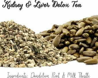 Organic Kidney and Liver Detox Herbal Tea