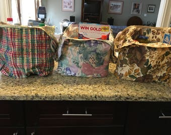 Heavy Duty Reusable Grocery Bags