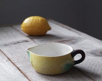 Vintage Goebel Lemon Motif Creamer, Antique Porcelain, Made in Germany, Home and Living, Table Ware, Dining