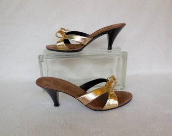 Boudoir slippers etsy - Ladies bedroom slippers with heel ...