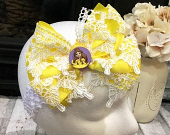 Beauty and the Beast, Belle Hair Bow