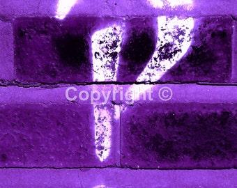 Interbang High Brow Grafitti found in Didsbury Village - Print Run of 100