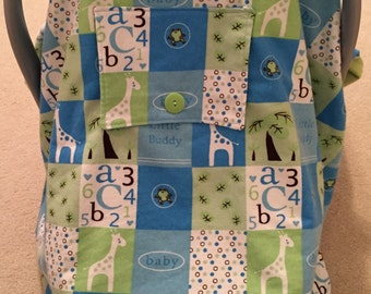 Boys Baby Car Seat Cover Canopy