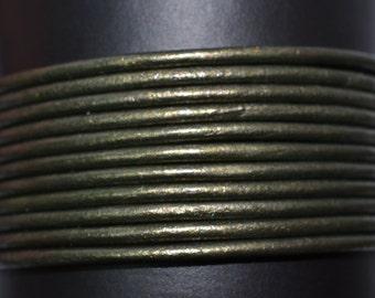 Gauriya - 1.5mm Leather Cord per yard