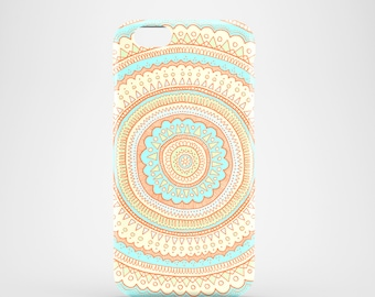 Carousel mobile phone case / iPhone X, iPhone 8, iPhone 7, iPhone 7 Plus, iPhone SE, iPhone 6S, iPhone 6, iPhone 5/5S / orange phone cover