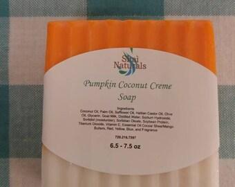 Pumpkin Coconut Creme Soap