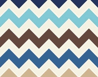 Riley Blake designs   Medium Sporty- Shaded Chevron   Fat Quarter
