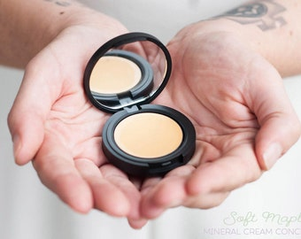 Pure Mineral Cream Concealers - Shade: Soft Maple