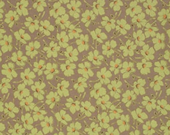 Amy Butler Gypsy Caravan Windflowers Moss quilting cotton by the yard off the bolt midwest modern