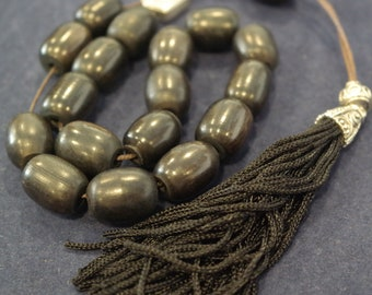 Prayer Beads Worry Beads Komboloi Traditional Greek Spinner Horn Beads