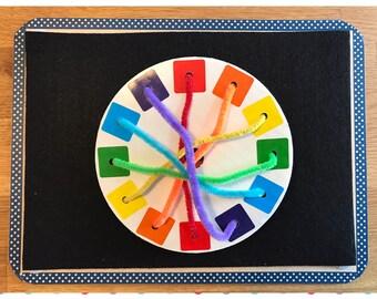 Color Wheel Busy Bag
