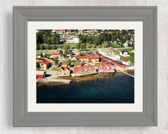 Norwegian Boat Houses - Nature Photography from Norway