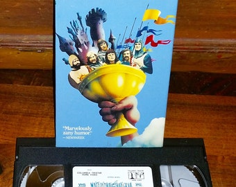 Monty Python and the Holy Grail Vintage VHS Movie Cassette Tape