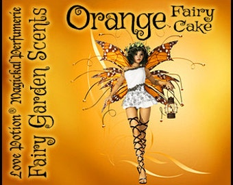 Fairy Cake: Orange - Sweet & Youthful Layerable Perfume - Love Potion Magickal Perfumerie