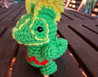 Mini Kecleon Pokemon Crochet Toy Doll