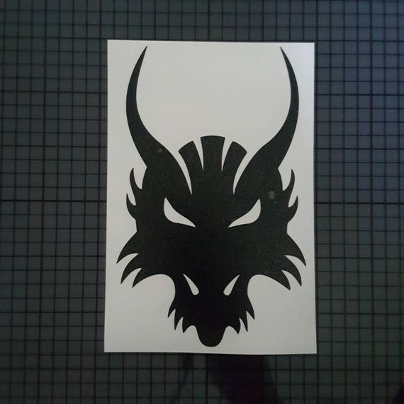 Game Of Thrones Decal Dragon Head Silhouette Design 16