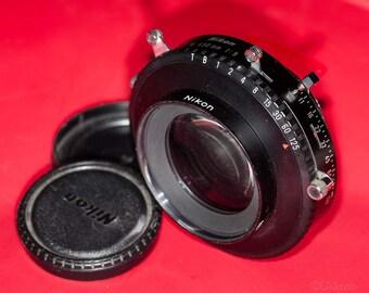 Nikon-M 450mm F-9  Lens  view camera