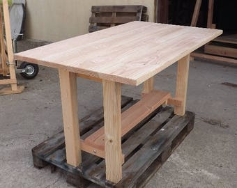 Douglas fir table special swing face
