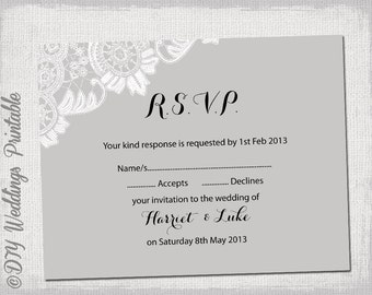 how to word rsvp