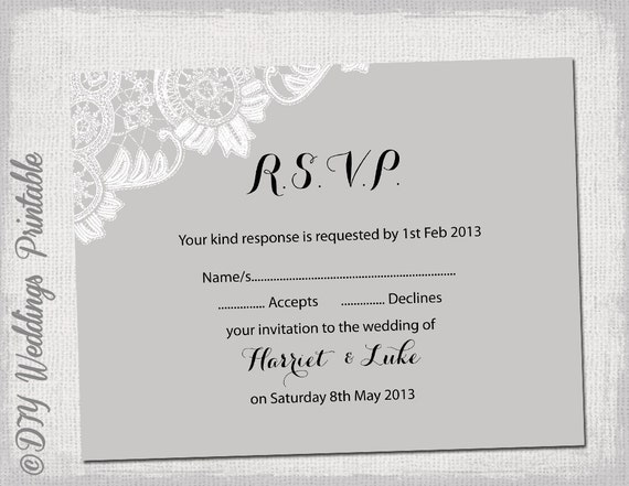 rsvp wedding template free koni polycode co