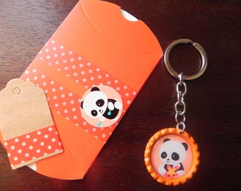 Key PANDA and his gift packaging