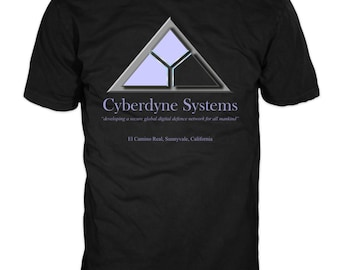 CYBERDYNE SYSTEMS T-shirt - Terminator 2 100% cotton t-shirt