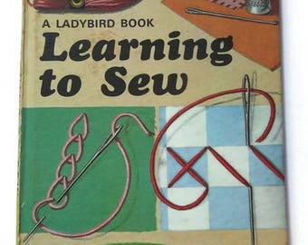 1972 Ladybird book Learning to sew