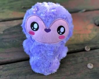 Penguin Plush - Handmade - Stuffed Animal - Baby Penguin - Kawaii - Gift for Kids - Toddler Gift - Personalized - Christmas Gift