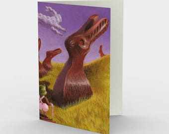 Confection - greeting card