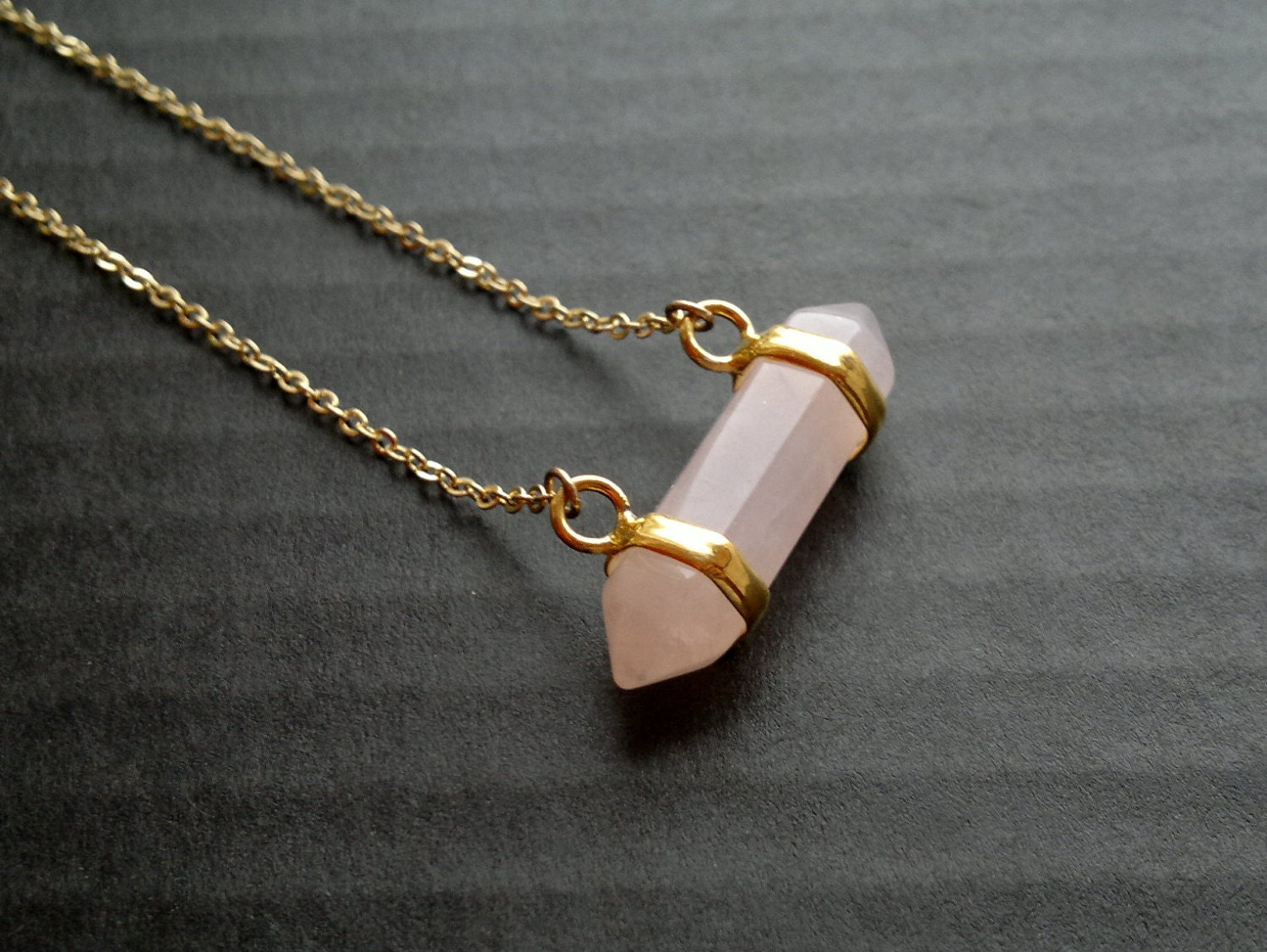 wrap wire pink pendants fluorite handmade item quartz in amethyst necklace new lemon women from natural purple necklaces fashion irregular pendant crystal jewelry