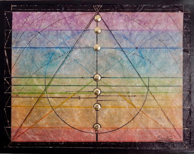 Circled Pyramid