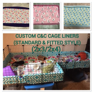 2x3 - 2x4 C&C CAGE LINERS STANDARD or Wall+Waterproofing