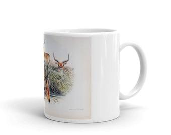 Une tasse de café - antilope rouge - tasse de café thé