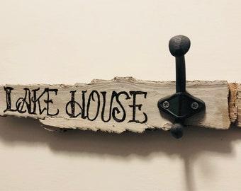Lake House Key/ Towel Hook