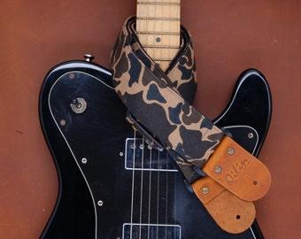 Camo Guitar Strap