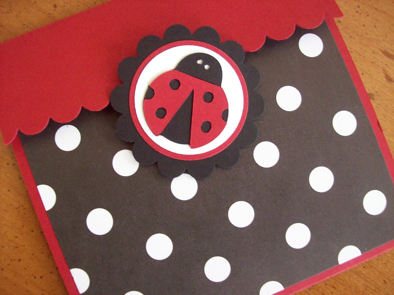 Ladybug Invitations Ladybug Birthday Invitations Ladybug