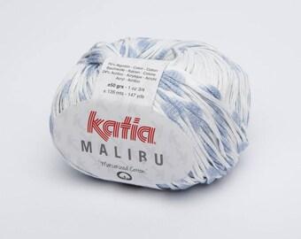 Wool Katia cotton Malibu blue 65