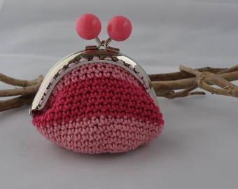 retro coin purse crochet
